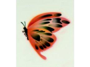 13370 stencil dekoracni 2 motyli 4 krokova