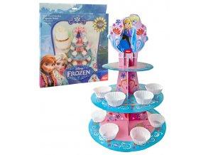 17201 stojanek na cupcake ledove kralovstvi papir frozen patra prum 35 30 a 20 v 50cm
