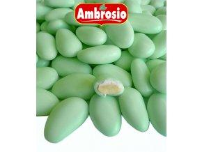 3536 svatebni mandle svetle zelene 1 kg krabicka
