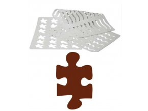 16892 sablona na cokoladu puzzle 18 tvaru sablona