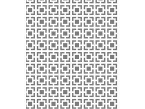 13304 sablona na dekoraci platu ctverce 30x20cm plast