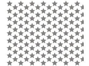 13310 sablona na dekoraci platu hvezda 60x40cm plast