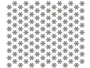 13328 sablona na dekoraci platu kvetina 60x40cm plast