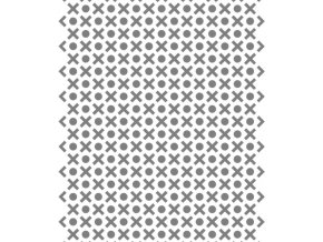13331 sablona na dekoraci platu piskvorky 30x20cm plast