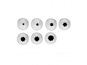 14186 spicky dekoracni nerez male hvezda sada 7 ks blister
