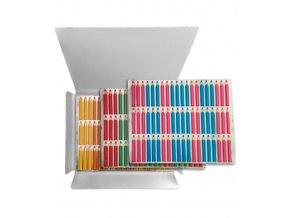 16685 transfer forma d 8cm tuzka mini 1 folie 60 tvaru 6 barev
