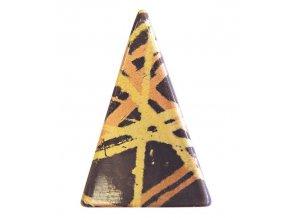 16697 transfer forma trojuhelnik dekor zlaty med 1 folie 80 tvaru