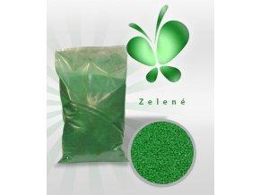 3557 trpytive cukrove krystalky af zelena perlet 1 kg sacek