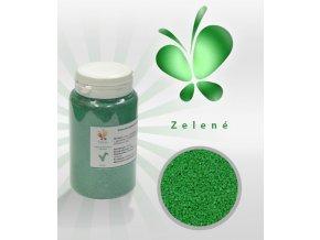3560 trpytive cukrove krystalky af zelena perlet 130 g doza