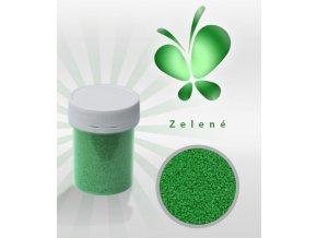 3563 trpytive cukrove krystalky af zelena perlet 30 g doza