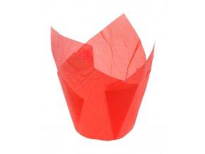 5789 tulipan papirovy na muffiny prum 50mm cerveny 1800 ks kart