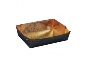 6449 vanicka na cukrovi zlata 190x130 v 35mm kuze hneda 10 ks bal