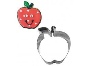 12206 vykrajovatko nerez jablko 7 6x8 4cm v 3cm