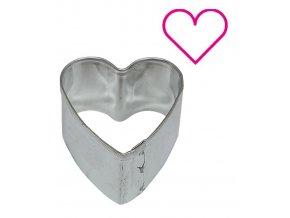 9554 vykrajovatko nerez minidezert srdce 4 6x4 6 v 2 5cm