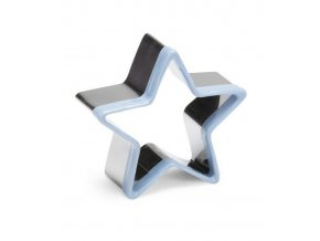 12470 vykrajovatko nerez s plast hranou hvezda prum 6 v 2 5cm
