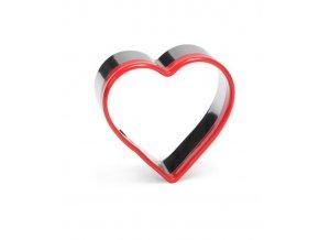 12479 vykrajovatko nerez s plast hranou srdce prum 6 v 2 5cm