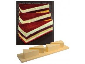 9653 vytlacovac plast na 4 dortove rezy pro formy monop