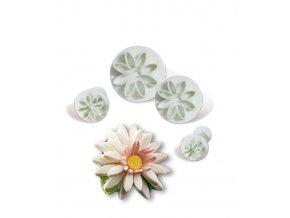 13091 vytlacovac vykrajovatko plast 4ks kvet prum 1 2 2 2 8 3 5
