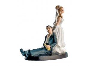17333 zenich a nevesta simpatici 14cm 1 ks figurka
