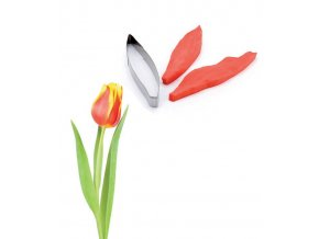 13160 zilkovace vykrajovatko sada 3ks list tulipan 2 5x18 v 2cm