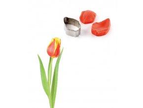 13199 zilkovace vykrajovatko sada 3ks okvetni listek tulipan 3 5x5 v 2cm