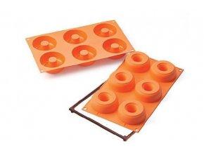 Silikonová forma na donuty - Silikomart