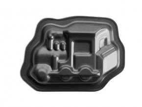 Formička na pečení - mini lokomotiva