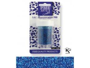 Sypání Glitter Flakes - modré