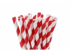 Papírové tyčinky na cake pop červené 20ks 15cm - House of Marie