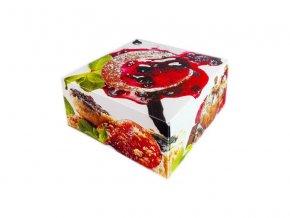 Krabička na zákusky Como 20x10
