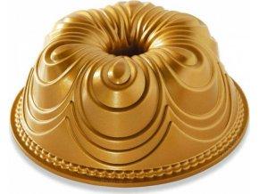 NW Forma na bábovku Chiffon 10 cup zlatá 87477 Nordic Ware