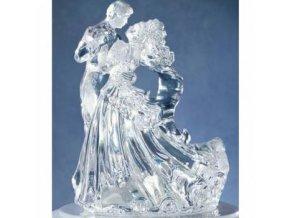 Bianca – čistý akryl svatební figurka - Wilton
