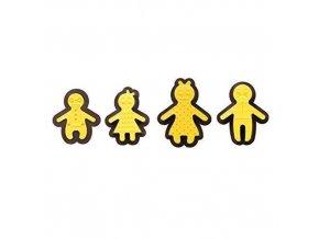 Set 8 ks  CUTTERS&DECORMARKERS HAPPY FAMILY - Decora