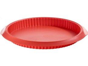 Koláčová forma nízká 28cm červená - Lékué