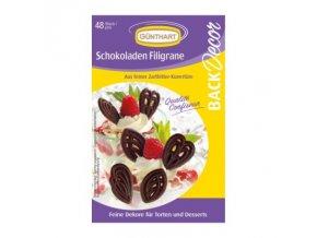 Čokoládové filigrány romance 48 ks