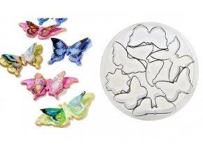 sada vykrajovatek motylci kvetina (2)