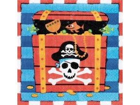 0005900 papirove ubrousky piratska party 20 ks 510