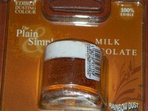RD Prachová barva mléčná čokoláda Rainbow - Milk Chocolate 3g
