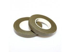 Aranžovací páska - mechově zelená 12mm