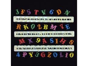 FMM Velká abeceda a čísla - Carnival 2,2cm
