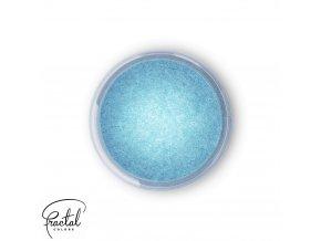 Jedlá prachová perleťová barva Fractal - Frozen Blue (3 g)