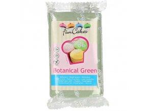 FunCakes potahový fondán Botanical Green - zelená 250g