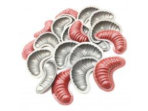 Teflonová vyklápěcí formička - rohlíčky malé 20ks