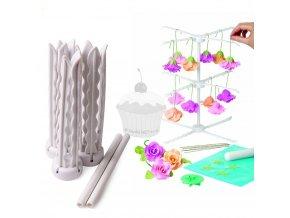 Skládací stojánek na sušení květin