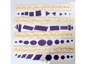 FMM lišta - základní tvary