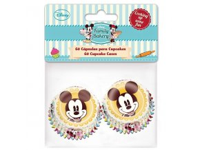 Stor mini cukrářské košíčky - Mickey 60ks