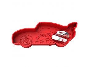 Stor - Silikonová forma - Cars - Blesk McQueen