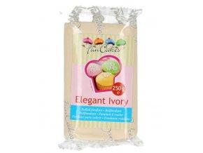 FunCakes potahový fondán - Elegant Ivory - elegantní slonová kost - 250g