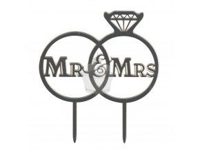 Zápich velký - Mr. and Mrs. - 1ks