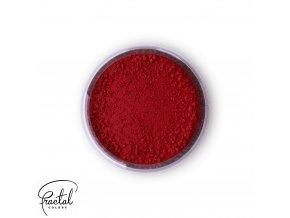 Jedlá prachová barva Fractal - Burgundy (1,5 g)